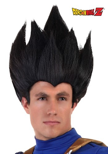Adult Vegeta Wig By: Partytime Costume & Lingerie (Yiwu) Factory for the 2015 Costume season.