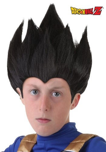 Child Vegeta Wig By: Partytime Costume & Lingerie (Yiwu) Factory for the 2015 Costume season.