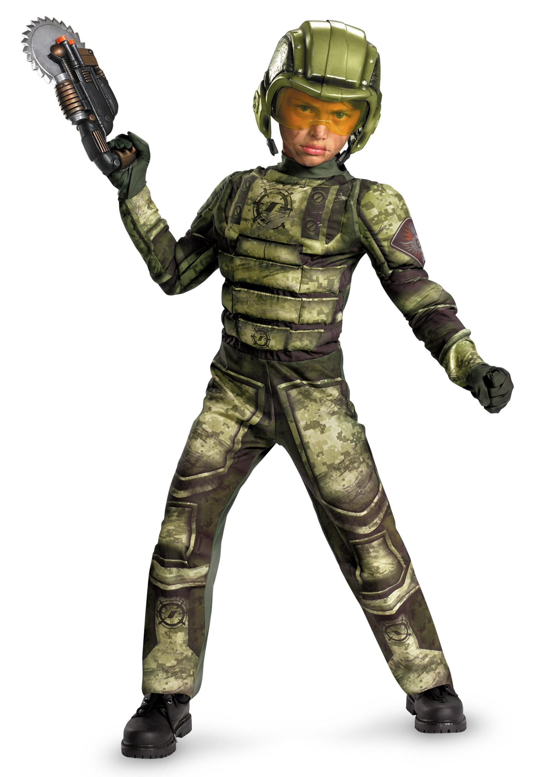 kids foot soldier costume