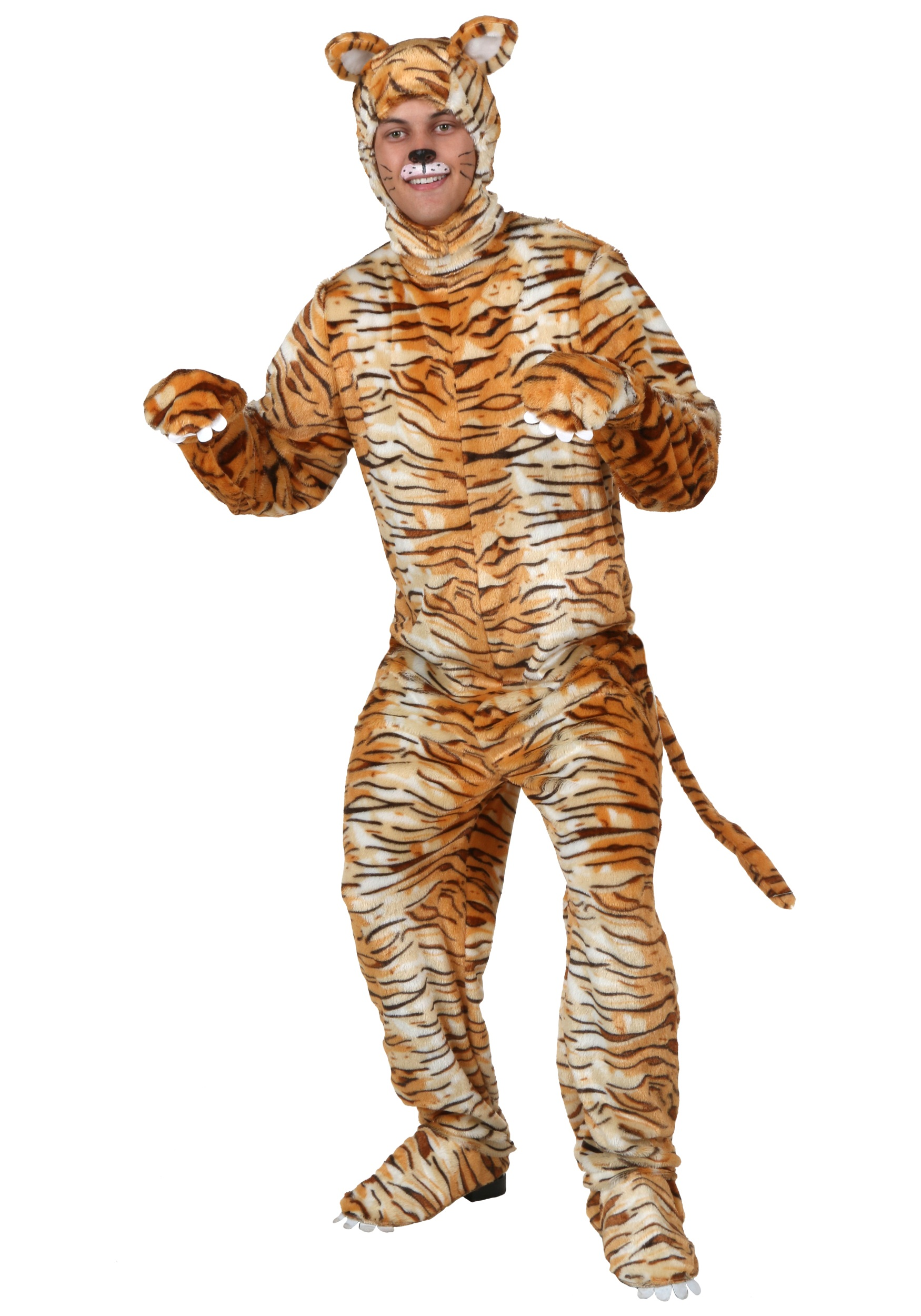 Adult Tiger Costume  sc 1 st  Halloween Costumes : tony the tiger costumes  - Germanpascual.Com