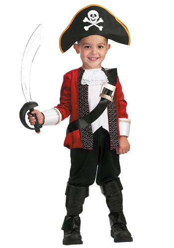 El Capitan Child Pirate Costume DI2163-S