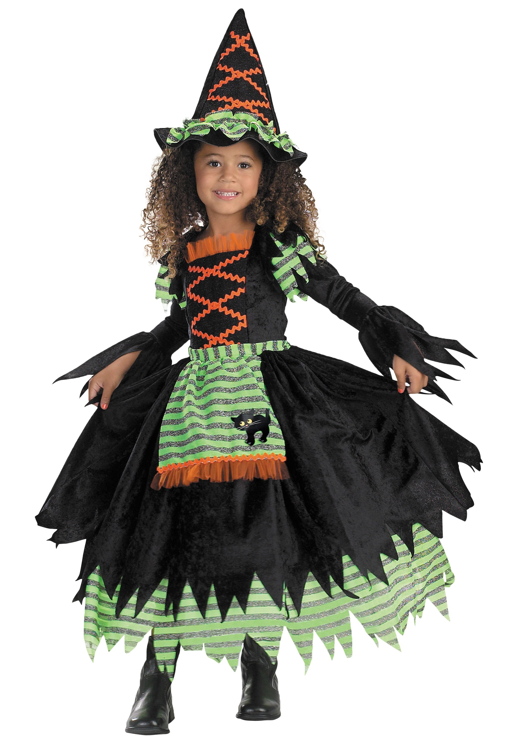 Toddler Storybook Witch Costume - Witch Halloween Costume