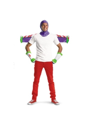 Click Here to buy Adult Buzz Lightyear Costume Kit from HalloweenCostumes, USA Funds & Shipping