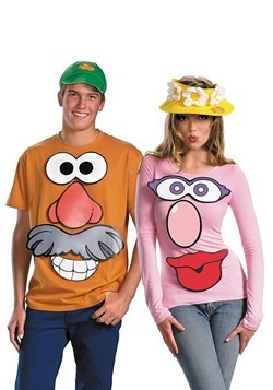 Mr. and Mrs. Potato Head Costume Kit Update Main