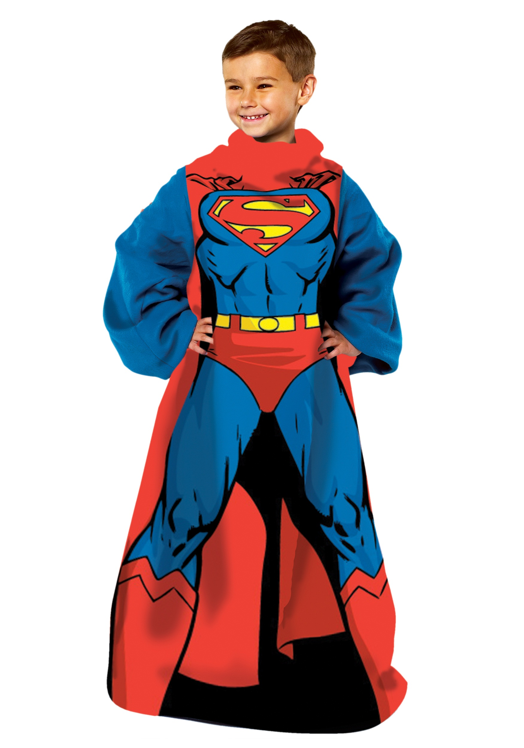 Being Superman Child Comfy Throw  sc 1 st  Halloween Costumes & Adult Kid Toddler Superman Costumes