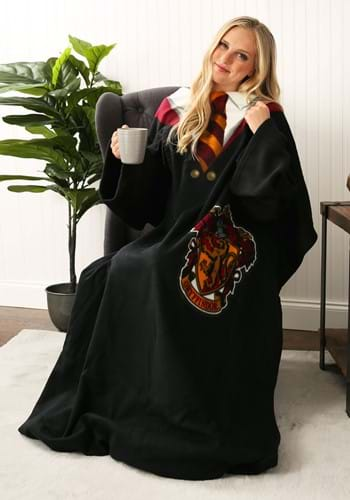 Image of Harry Potter Robe Adult Comfy Throw