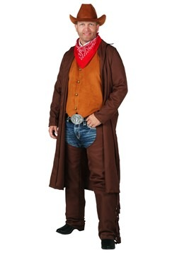Plus Size Rancher Cowboy Costume cc