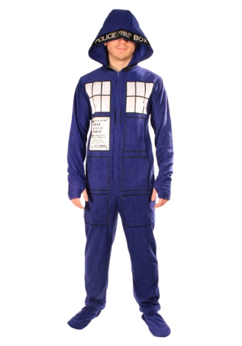 Doctor Who: Adult Tardis Pajamas By: Undergirl for the 2015 Costume season.