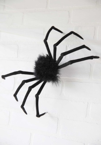"""Image of Poseable 16"""" Small Furry Spider"""