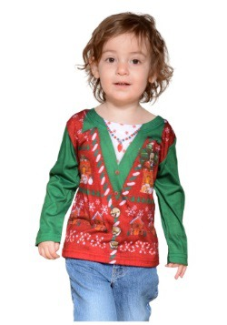 Toddler Ugly Christmas Vest
