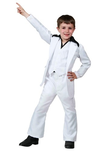Kids Deluxe Saturday Night Fever Costume