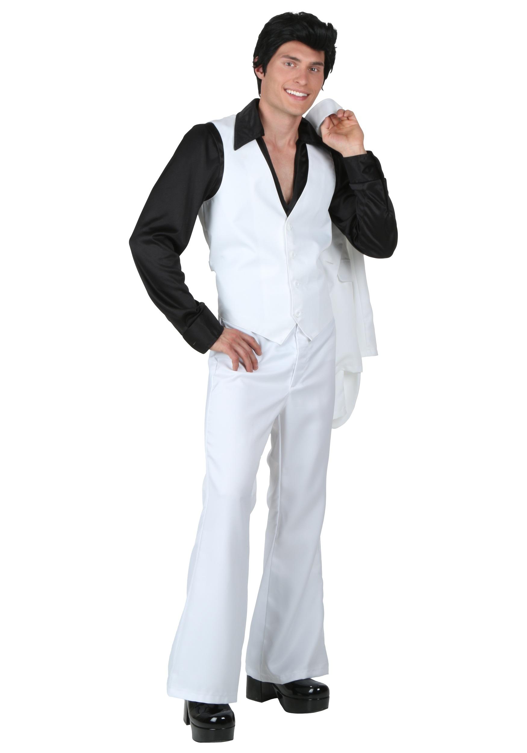Plus Size Deluxe Saturday Night Fever Costume alt 1