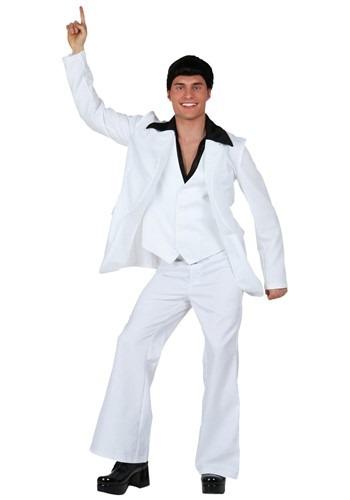 Plus Size Mens Deluxe Saturday Night Fever Costume