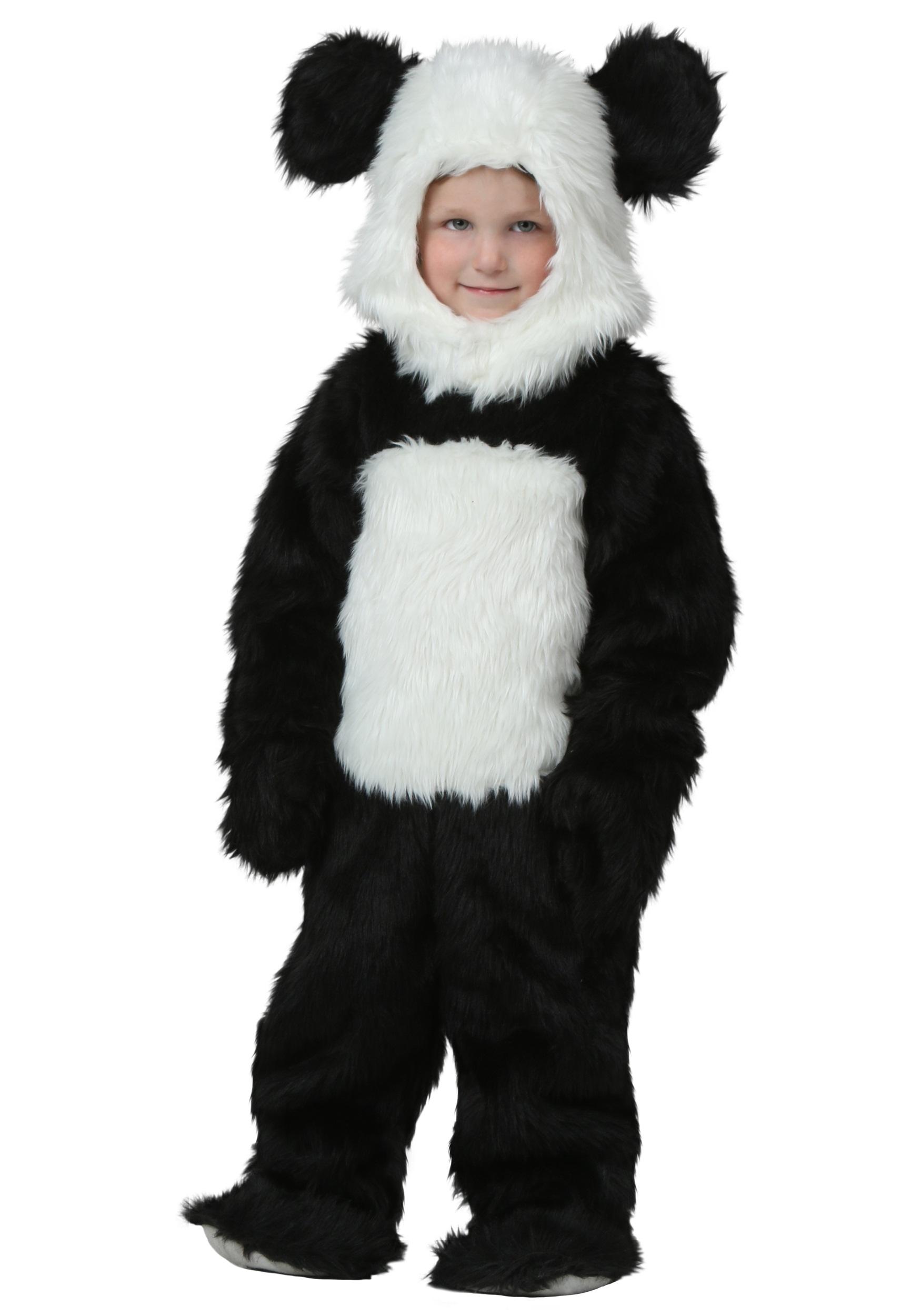 Toddler Deluxe Panda Costume - photo#18