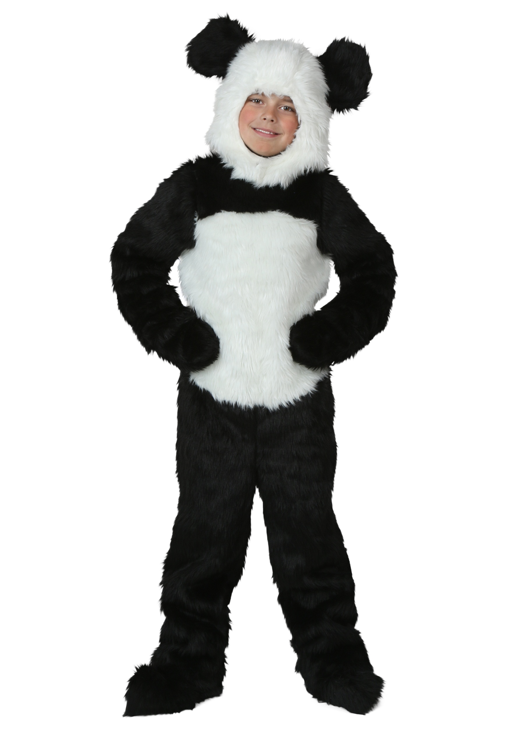 child deluxe panda costume. Black Bedroom Furniture Sets. Home Design Ideas
