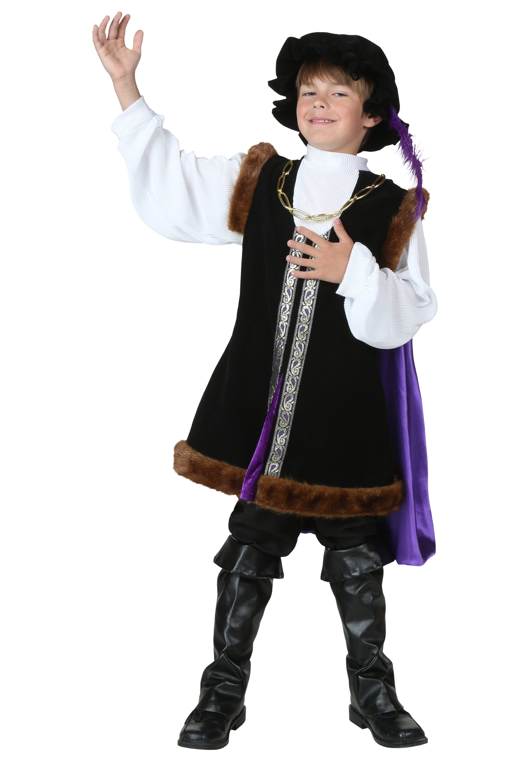Child Noble Man Costume - Costume