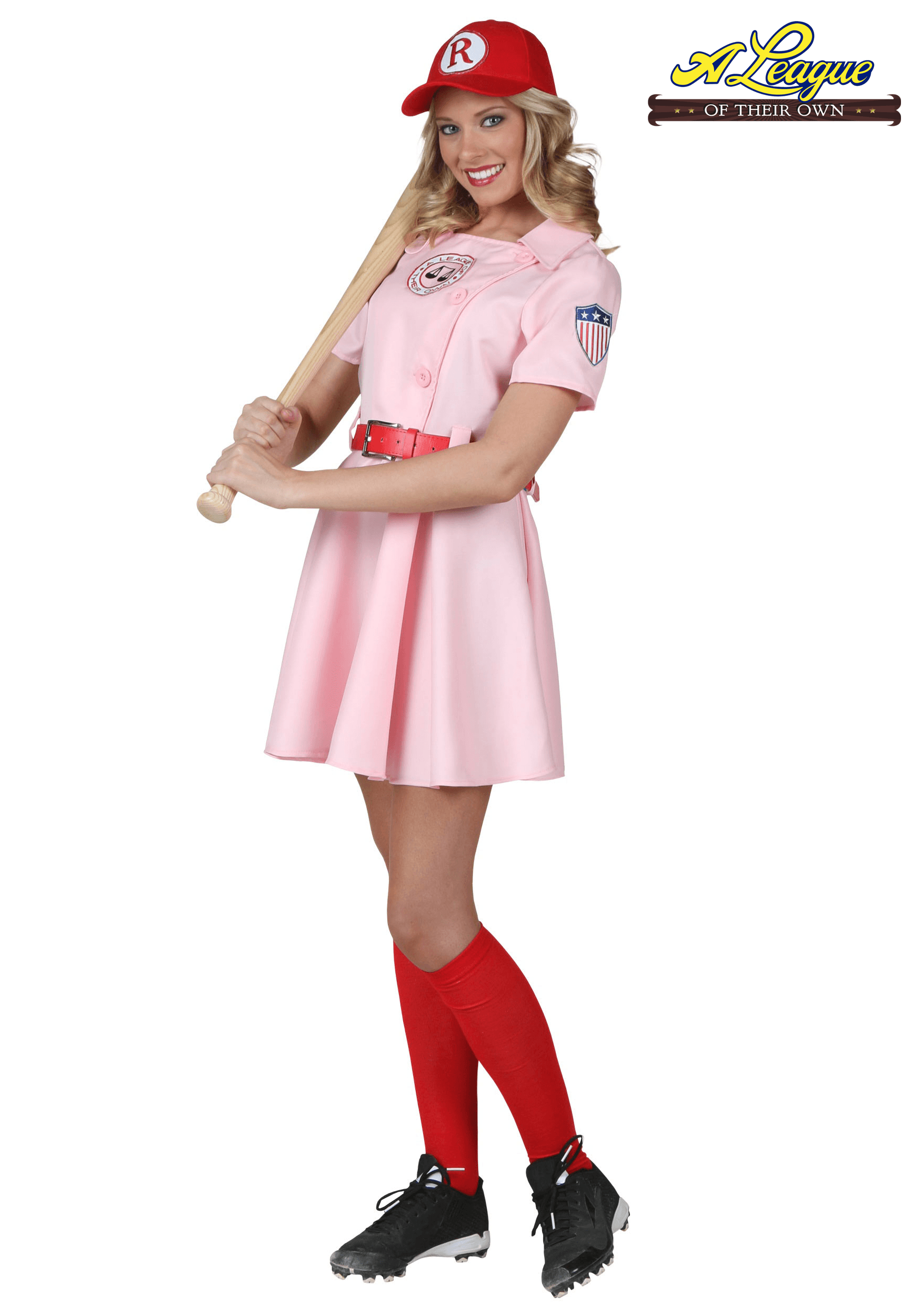 Sports halloween costumes uniforms halloweencostumes womens a league of their own dottie costume solutioingenieria Image collections