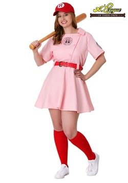 Plus Size League of Their Own Dottie Costume1