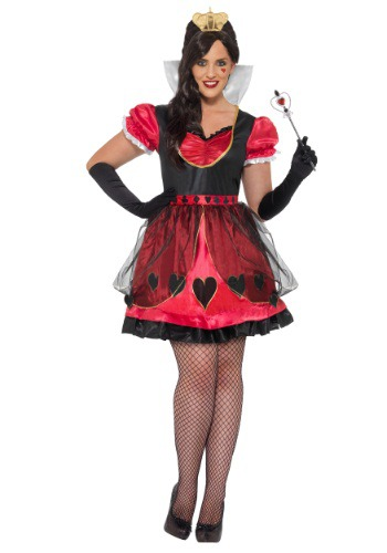 Plus Size Queen of Wonderland Costume By: Smiffys for the 2015 Costume season.