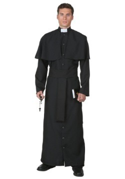 Plus Size Deluxe Priest Costume
