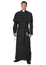 Plus Size Deluxe Priest Costume