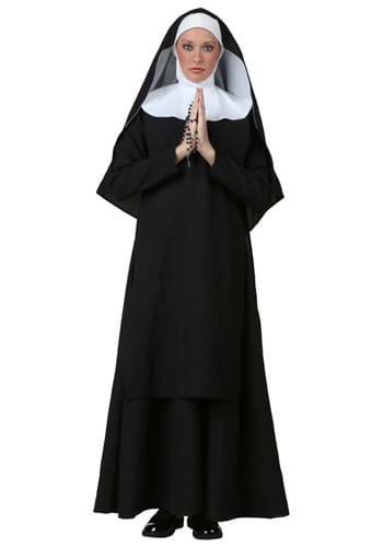 Click Here to buy Deluxe Nun Costume from HalloweenCostumes, USA Funds & Shipping