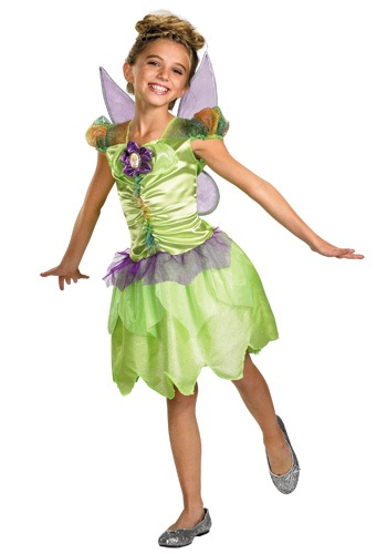 Girls Tinkerbell Rainbow Costume