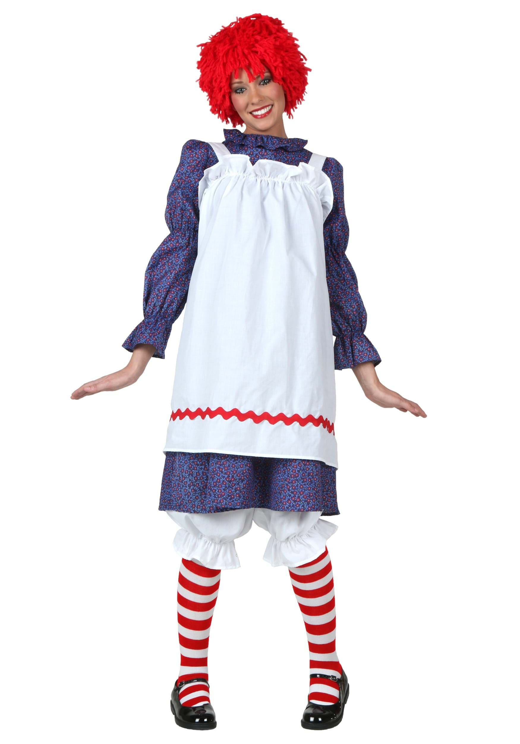 Adult Rag Doll Costume