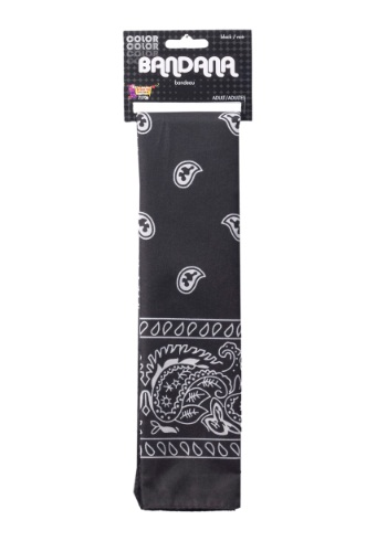 Black Bandana By: Forum Novelties, Inc for the 2015 Costume season.