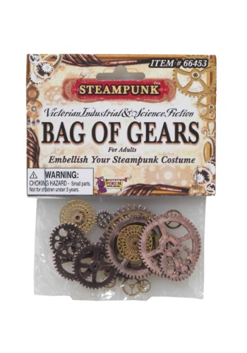 Click Here to buy Steampunk Bag of Gears from HalloweenCostumes, CDN Funds