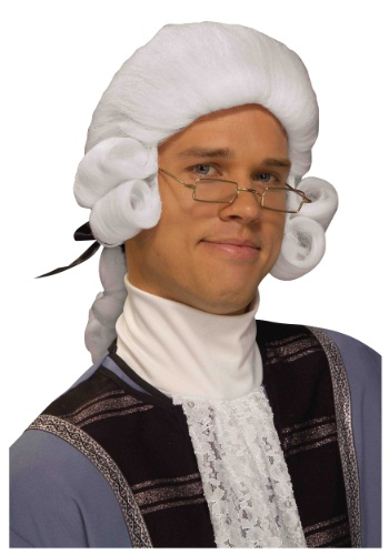 Mens Colonial Wig By: Forum Novelties, Inc for the 2015 Costume season.