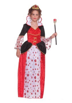 Girls Queen of Hearts Costume