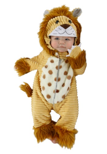 Click Here to buy Safari Lion Baby Costume from HalloweenCostumes, USA Funds & Shipping