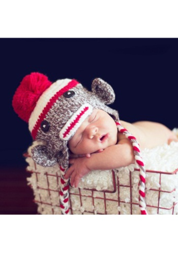 Infant Double Stitch Sock Monkey Hat By: Princess Paradise for the 2015 Costume season.