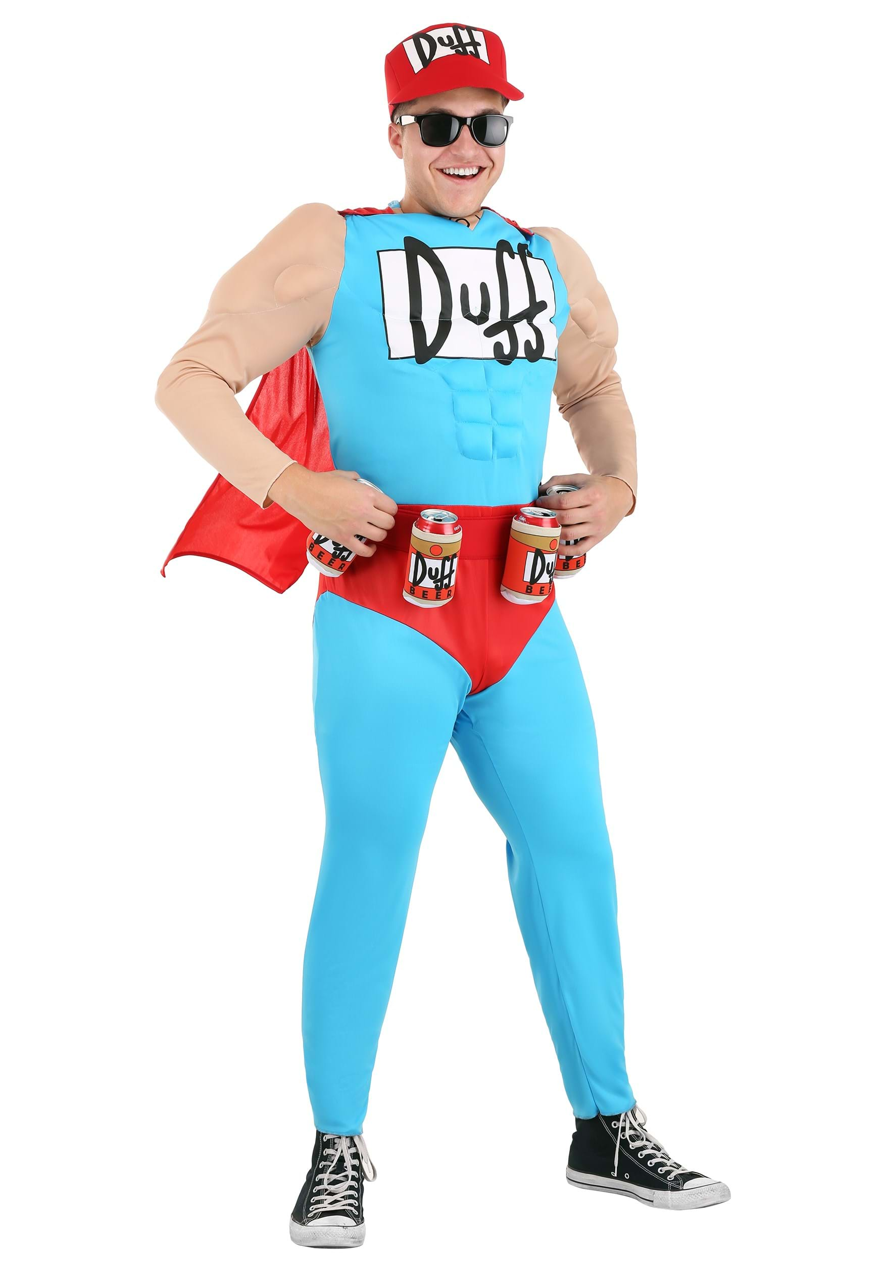 Menu0027s Duffman Costume  sc 1 st  Halloween Costumes : beer mug halloween costume  - Germanpascual.Com