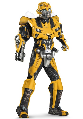 Click Here to buy Adult Authentic Bumblebee Costume w/ Vacuform from HalloweenCostumes, USA Funds & Shipping