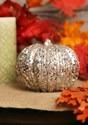 5 Inch Champagne Glitter Pumpkin update2