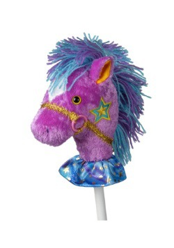"Fancy Prancer Precious Pony 33"" Horse on a Stick"