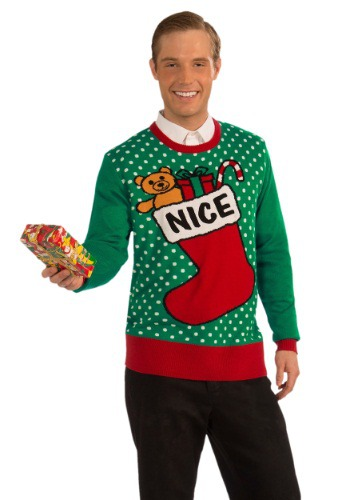 Christmas Nice Sweater By: Forum Novelties, Inc for the 2015 Costume season.