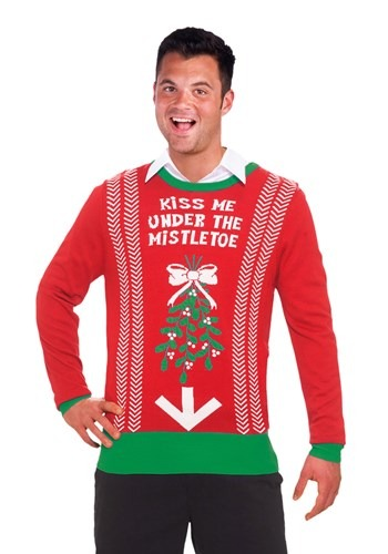 Kiss Me Under the Mistletoe Christmas Sweater By: Forum Novelties, Inc for the 2015 Costume season.