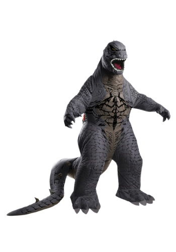 Deluxe Inflatable Adult Godzilla Costume By: Rubies Costume Co. Inc for the 2015 Costume season.