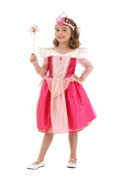 Sleeping Beauty Deluxe Dress Child Costume