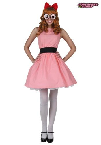 Plus Blossom Powerpuff Girl Costume 1X 2X Powerpuff Girls Buttercup Costume