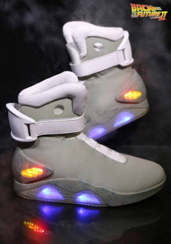 Back to the Future 2 Light Up Shoes By: EI Global Group for the 2015 Costume season.
