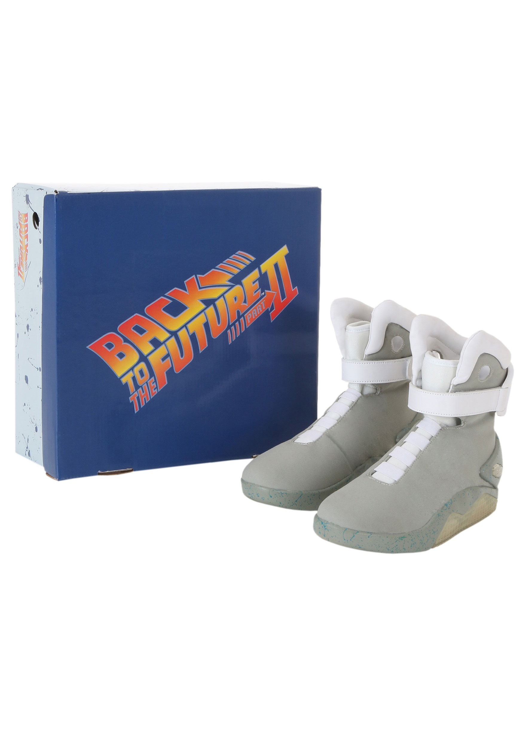 BACK TO THE FUTURE AIR MAG LIGHT UP STRAPS SET Marty Mcfly 2015 80s for shoes