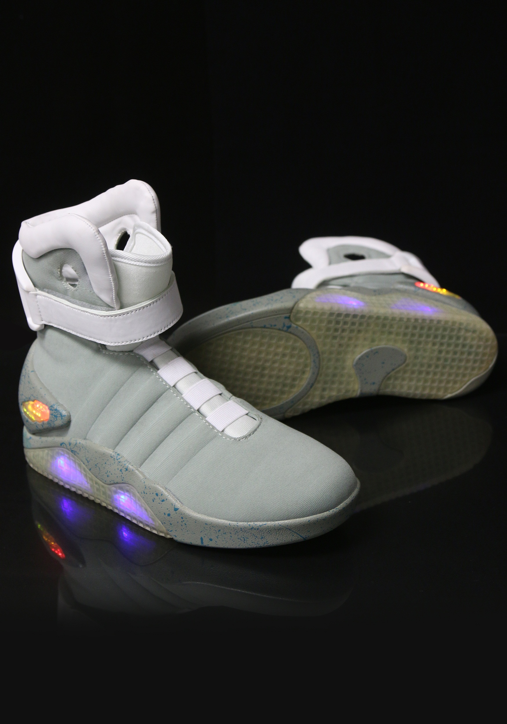 back to the future 2 light up shoes. Black Bedroom Furniture Sets. Home Design Ideas
