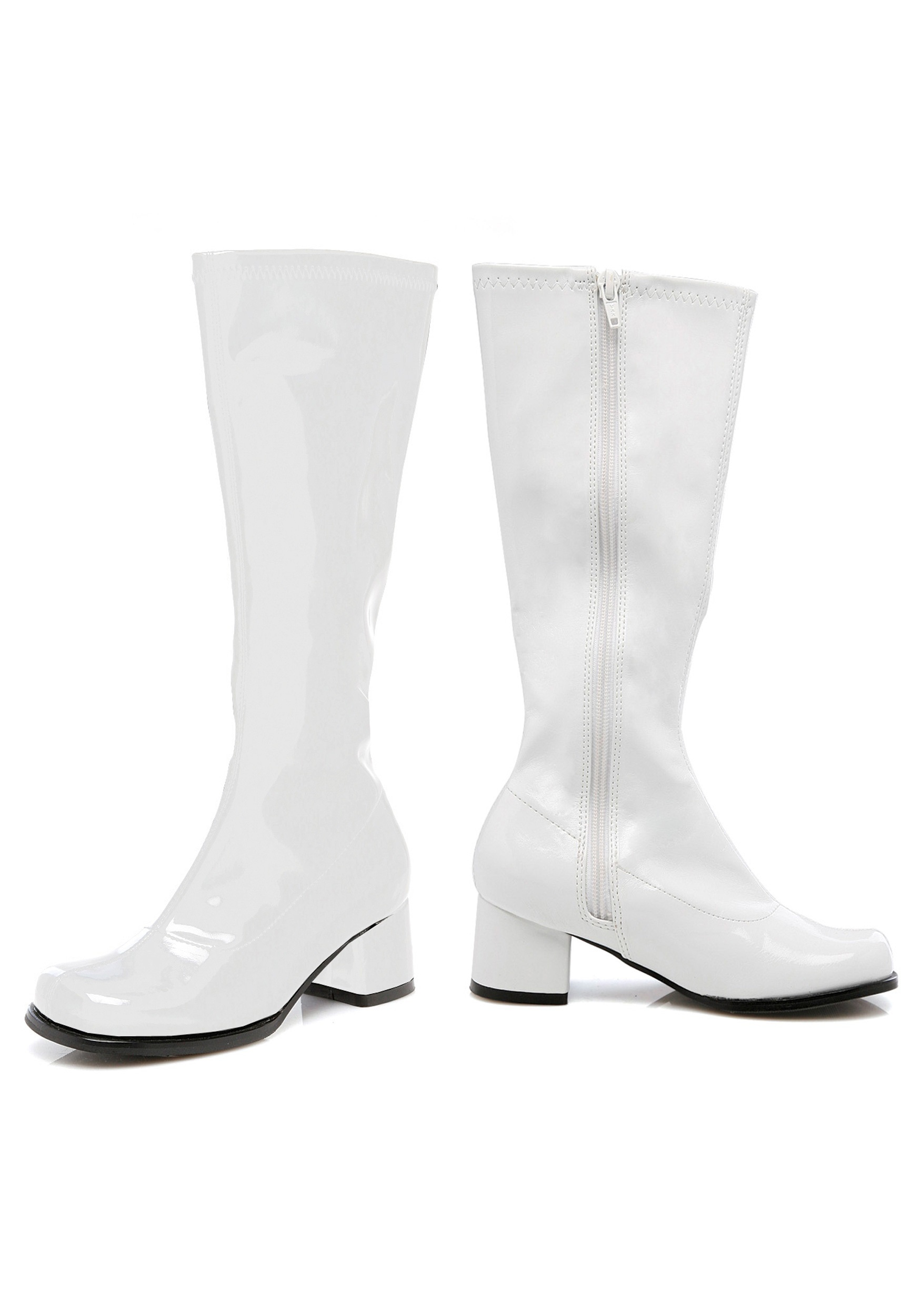 white boots girls