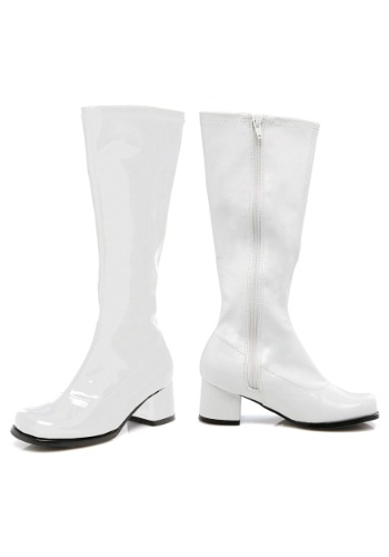 Toddler White Gogo Boots