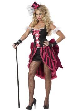 Women's Plus Size Parisian Showgirl Costume