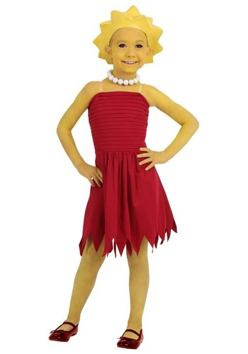 Click Here to buy Kids Lisa Simpson Costume from HalloweenCostumes, CDN Funds